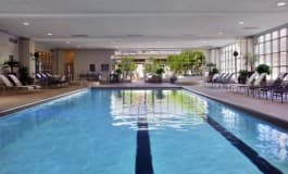 Hilton Chicago Huber Pool